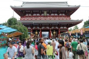 The Sensou-ji Temple