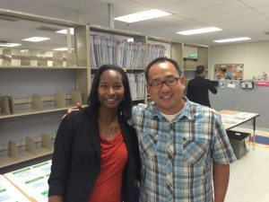 Ran into my UCLA classmate, Eric Chyo, who I haven't seen in 16 years! Go Bruins!