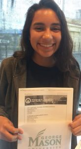 Katherine represents Canoga Park at the Journalism Conference!